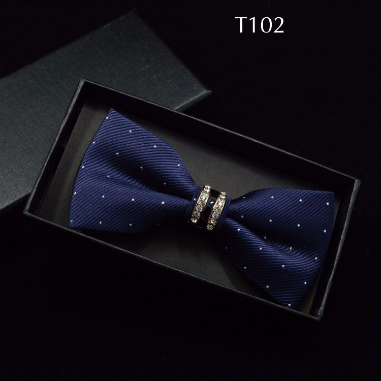 Tuxedo Bow tie Red carpet crystal accent butterfly knot Men suit accessory 102