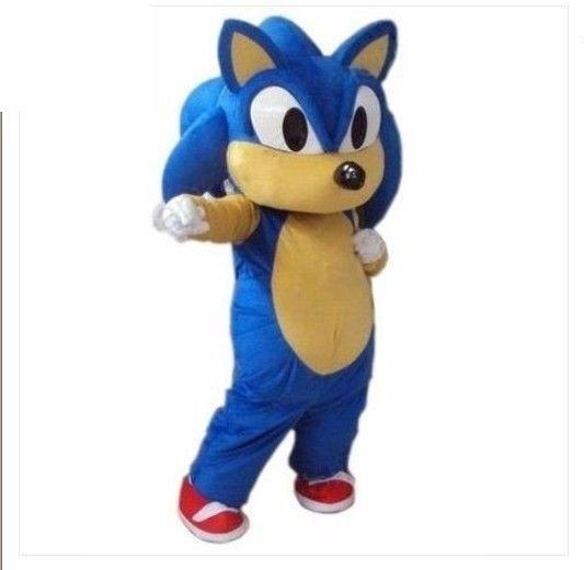 Sonic HedgeHog Costume Character Adult Halloween Costume-