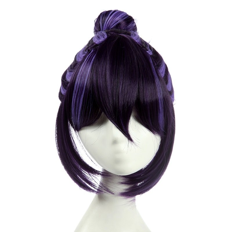 Purple Anime Cosplay Costume Wig Character Love live! Synthetic Hair Wig Halloween