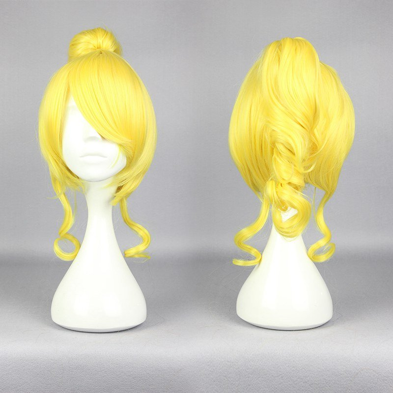 Anime Cosplay Costume Wig Character Love live! Eli Ayase Synthetic Blonde Wig