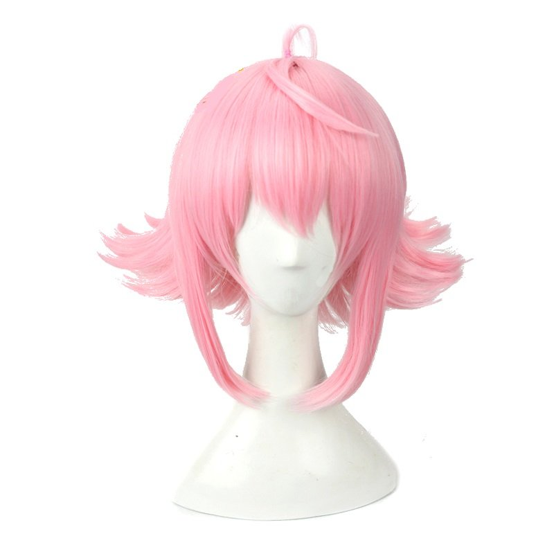 "Anime Stars tori 12"" female girl pink short cosplay wig  Costume Halloween"