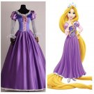 Tangled Rapunzel Princess Character Embroidered Costume Adult Custom Design