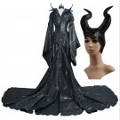 Maleficent Angelina Jolie Dress Costume (Includes Costume and headpiece)