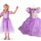 Rapunzel Princess Character Dress Costume CHILD /KID  (3T,4T,5- 10)