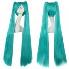 Cosplay Extra Long Blue Anime costume Accessory Female HALLOWEEN