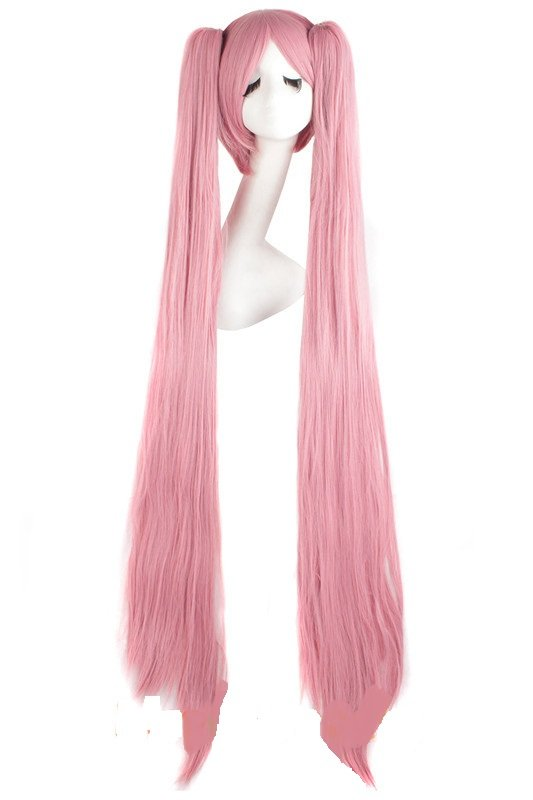 Cosplay Extra Long Pink Anime costume Accessory Female HALLOWEEN