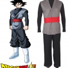 Dragonball Z Super Goku Black Fighting Uniform Anime Cosplay Costume