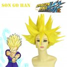 Dragon Ball Z: Son Gohan Super Saiyan Golden Anime Cosplay Wig