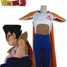 Dragonball Z Vegeta Saiyan princess Costume Uniform Anime Cosplay Halloween