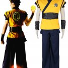 Dragonball Z  Film Evolution Goku Kame Practice Anime Cosplay Character Costume