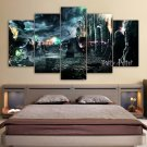 Harry Potter Deathly Hallows Movie Canvas HD Wall Decor 5PC Framed oil Painting