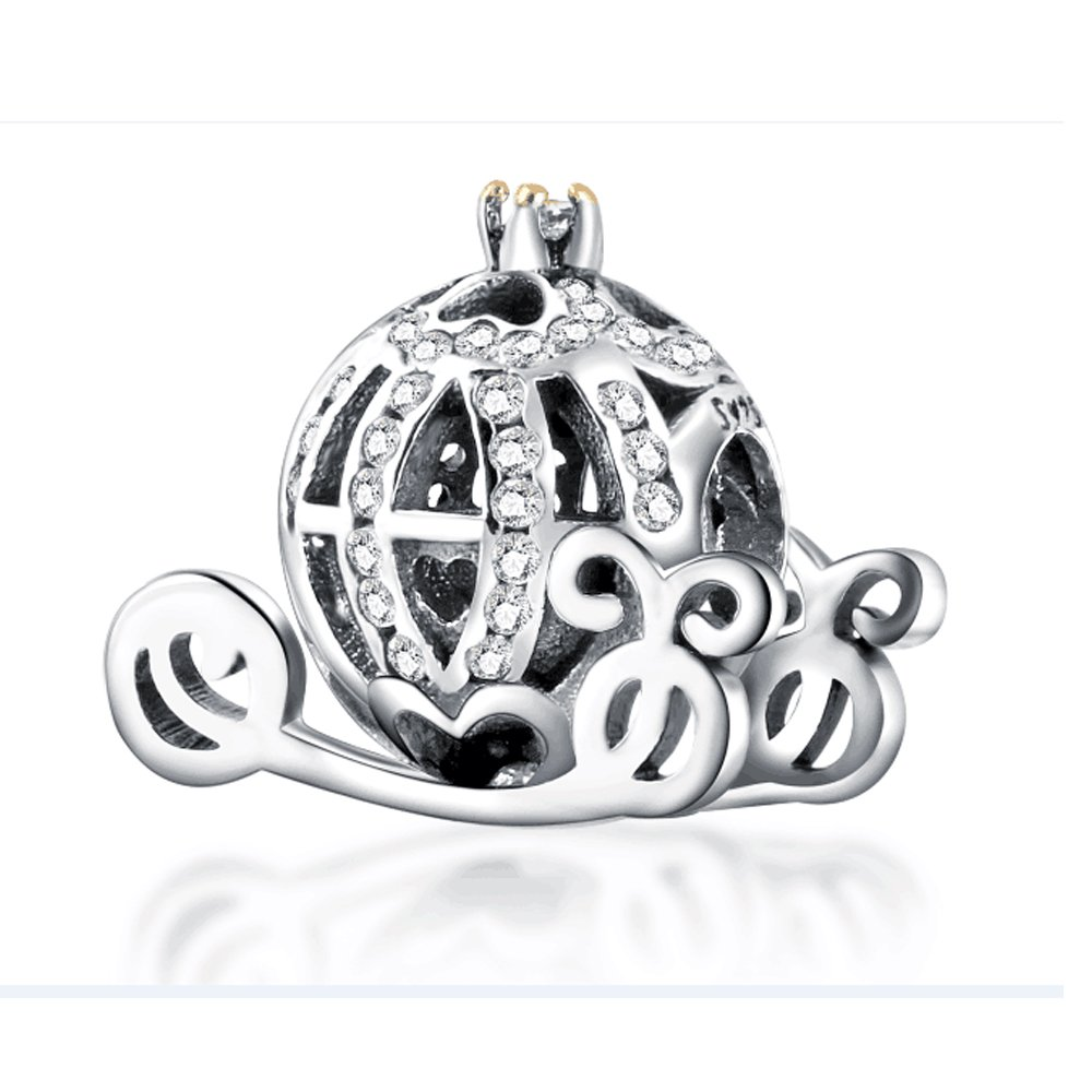 Cinderella Carriage Princess Pendant Charm For Pandora
