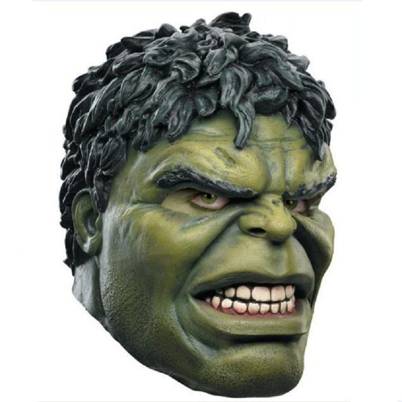 The Incredible Hulk Character Latex Mask Halloween Cosplay Avengers New