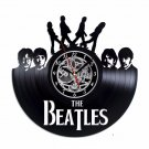 The Beatles vinyl record theme wall clock Vintage Decor Music Group