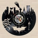 Batman Arkham City Scene vinyl record theme wall clock Vintage Decor