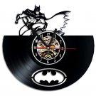 Batman Superhero vinyl record theme wall clock Vintage Decor Room Decor