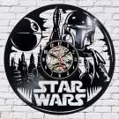 Star Wars Movie film vinyl record theme wall clock Vintage Decor