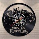 Ninja Turtles Characters vinyl record theme wall clock Vintage Room Decor