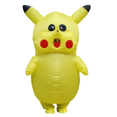 Pikachu  Inflatable Costume Cartoon Character Adult