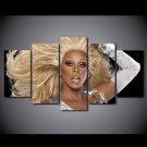 RuPaul's Drag Race RuPaul Canvas HD Wall Decor 5PC Framed oil Painting
