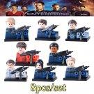 Star Trek Enterprise 8pc Mini Figures Building Blocks Set LEGO  New Arrival