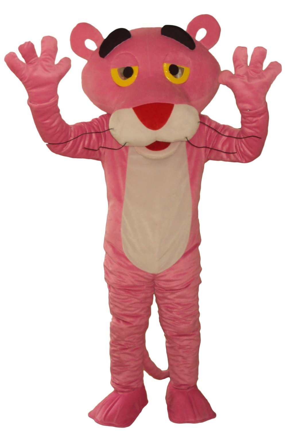 Pink Panther Mascot Costume Adult Character