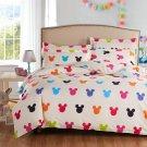 Mickey Mouse Colors Kids Bedding Set - Queen 4pcs SALE