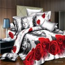 Marilyn Monroe Classic 4pc Bedding Cover Set - Queen Size- SALE & FREE SHIP