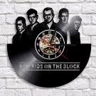 New Kids on the Block vintage vinyl record theme wall clock Music Artist Home Decor