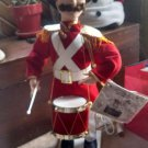 "Telco Motionettes Christmas Animated Soldier Drummer 110v 24"" Tall beats/nods"
