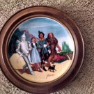 "Framed Knowles 79' Wizard Of Oz ""The Grand Finale"" Auckland 40th Anniv. Plate"