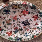DAHER DECORATED WARE DEEP DISH PLATTER FLORAL Long Island NY Made England 11101