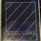 NIB Hallmark~TRAVEL JOURNAL~1984~Navy Stripes  #RA3206