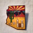 VFW Department of Arizona LAPEL PIN Cactus Adobe Sunrise Home Castle