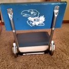 Vintage Authentic gear Kansas Univ. Jayhawk STADIUM SEAT blue and white Lawrence