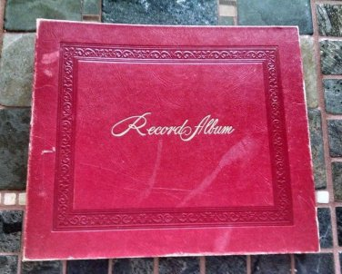 Antique 1900's Victrola record assortment in Album collection mixed labels
