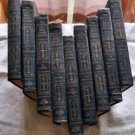 1927 RARE BOOKS:The World's 100 BEST SHORT STORIES-Blue Set 9 Volumes of 10