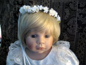 """ZAPF CREATIONS DOLL OF THE YEAR 1998 """"ROSALIE"""" A MUST SEE"""