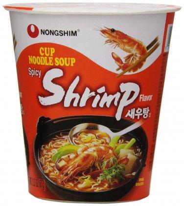 Shrimp Cup Ramen 6 Cups