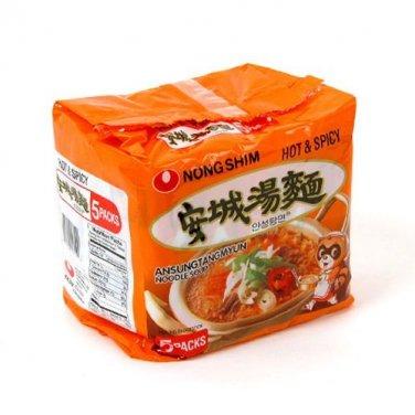 Ahnsung Tang Ramen Noodle 5 Packs