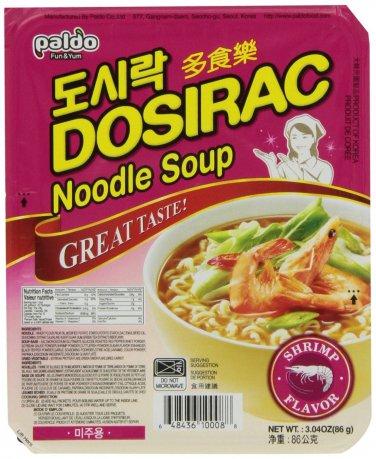 Dosirac Noodle Shrimp Flavor 12 Packs
