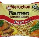 Maruchan Beef Flavor 24 Packs
