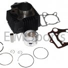 Dirt Pit Bike Big Bore Cylinder Piston Kit 54mm Upgrade 110cc Honda CRF110 XR100