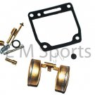 80cc Dirt Pit Bike Carburetor Carb Rebuild Repair Kit For Yamaha PW80 1983-2000