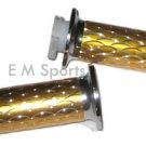 Throttle Control Grip Grip Cateye Mini Pocket Bike Parts 33cc 43cc 49cc Gold
