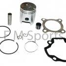 50cc Dirt Pit Bike Engine Motor Piston Kit w Rings For Yamaha PW50 1999-2004