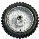 Rear Wheel Tire Rim For Monster Moto 70cc Dirt Pit Bike MM-X70 Parts