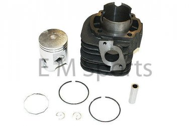 Motor Cylinder Kit w Piston Rings 50mm 90cc 100cc 2 Stroke Chinese Scooter Moped