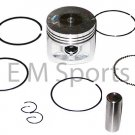 Dirt Pit Bike 140cc Piston with Rings 55mm Parts Lifan Engine Motor 1P55FMJ
