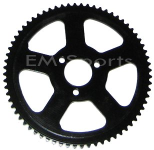 Mini Pocket Bike Parts Rear Sprocket 68 Tooth Cags MX3 GP-RSR Blade 25H Chain